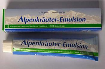Alpenkräuter-Emulsion von Lloyd 200 ml | Balsam24