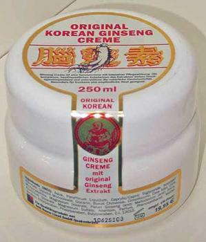 Lloyd Original Korean Ginseng Creme  250 ml