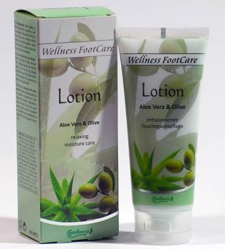 Camillen 60 Lotion Aloe Vera & Olive Wellness Foot Care 100 ml